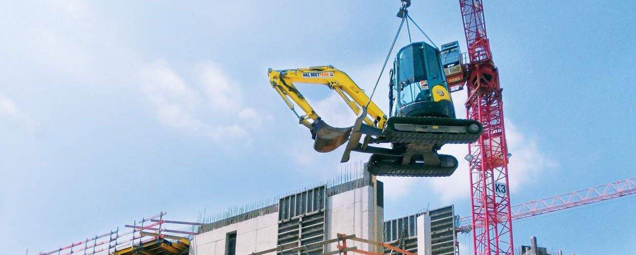 """Profi-Equipment und Know-how für den Bau des """"K in Lautern"""""""