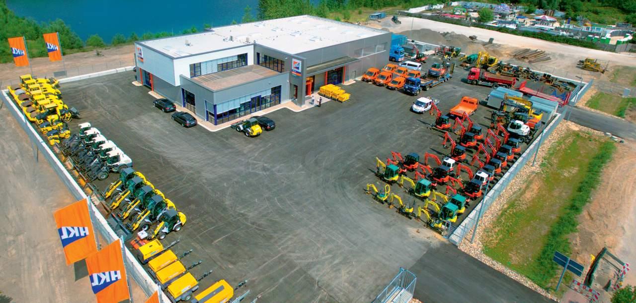 Das neue Center in Neuss: Auf über 7.000 Quadratmetern bietet HKL hier sein komplettes Dienstleistungsportfolio.
