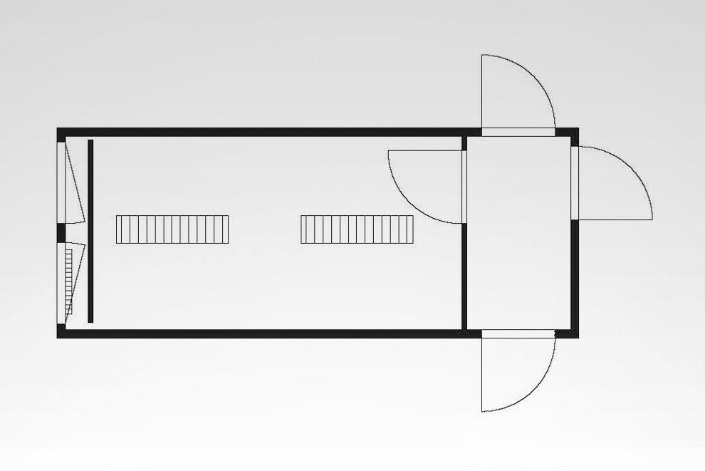 Anlagen-Container Typ HKL BM 20 D / S