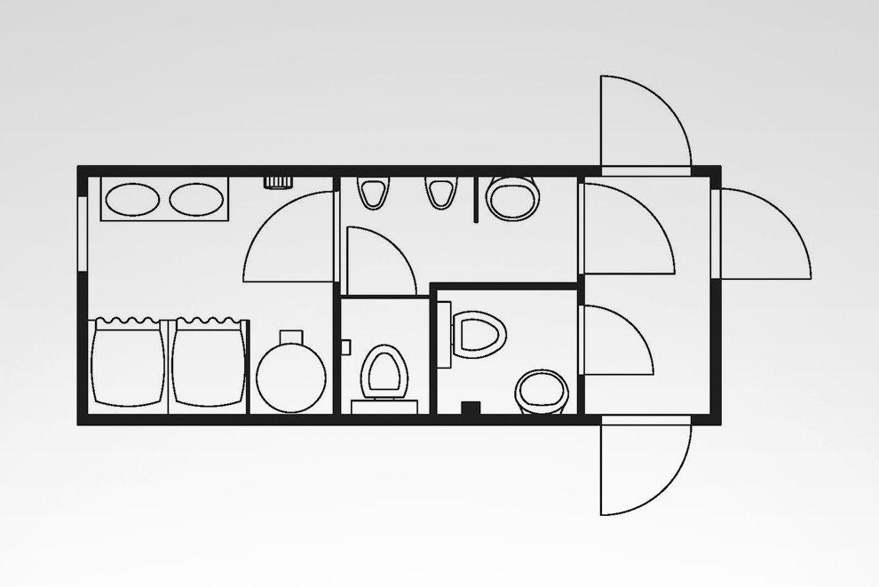 Anlagen-Container Typ HKL SA 20 H