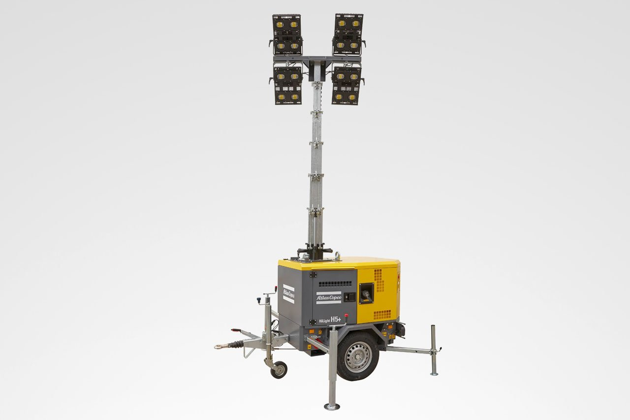 Atlas Copco LED Lichtmast HiLight H5+