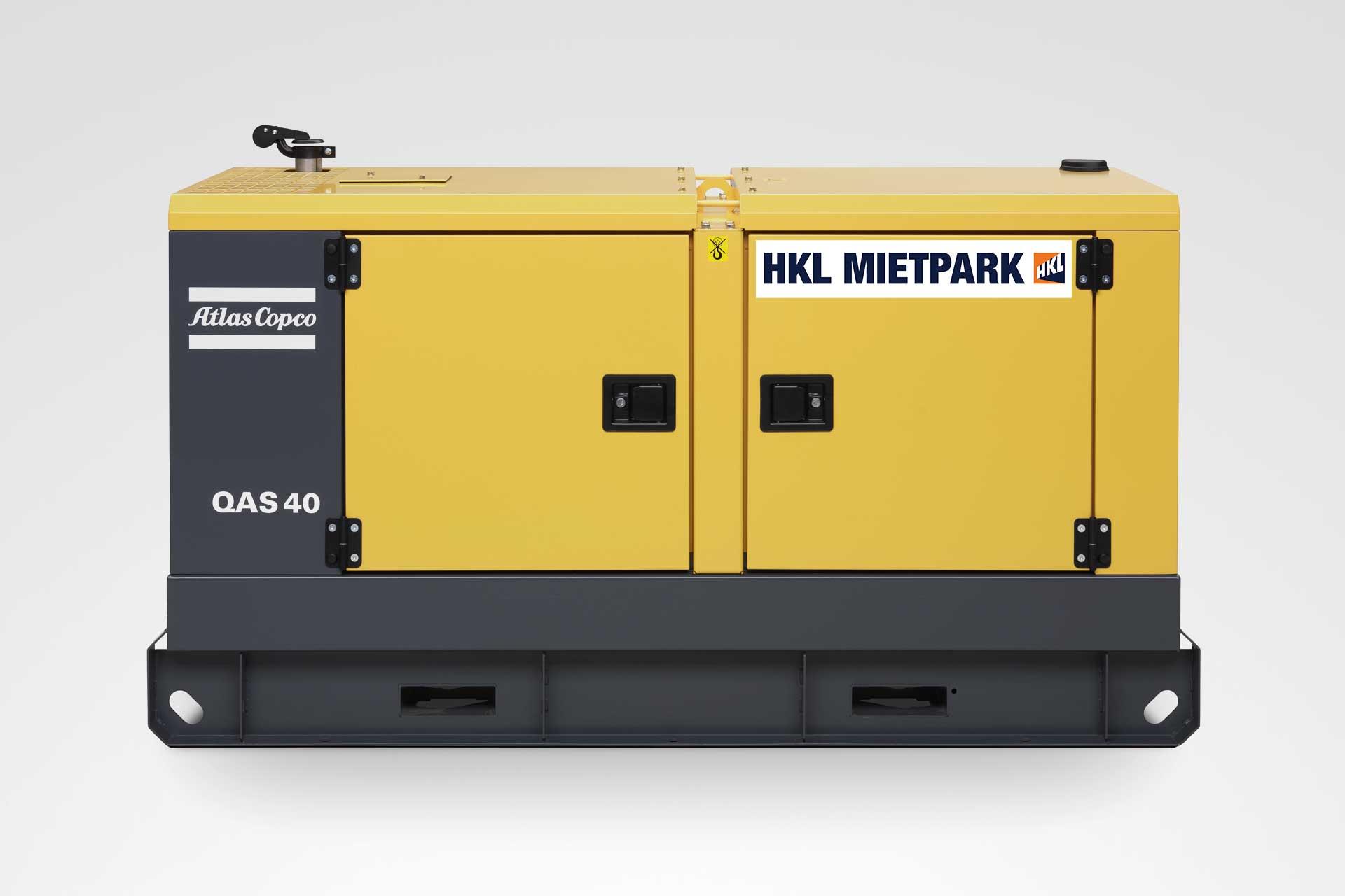 Atlas Copco QAS 40 Stromerzeuger