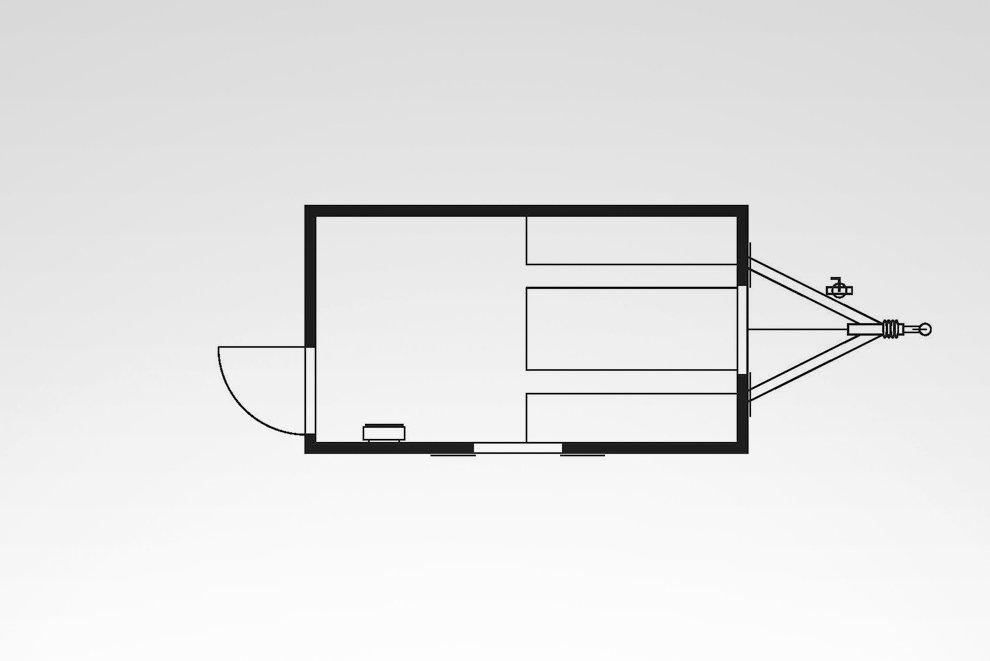 Bauwagen RASANT 370