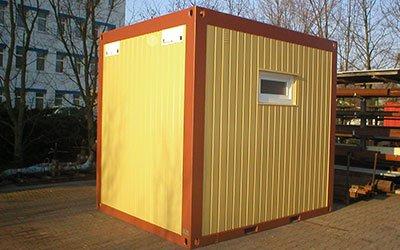 Raumsysteme & Container kaufen - Lager, Sanitär, Büro | HKL BAUMASCHINEN
