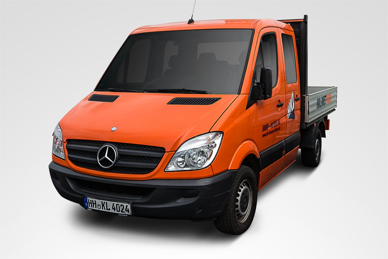mercedes benz sprinter 313 dreiseiten kipper hkl baumaschinen mieten kaufen service. Black Bedroom Furniture Sets. Home Design Ideas