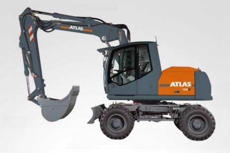 Atlas 160 W Mobilbagger mieten bei HKL BAUMASCHINEN