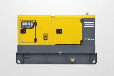 Atlas Copco QAS 30 Stromerzeuger mieten bei HKL BAUMASCHINEN
