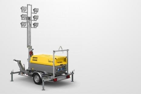 Generatoren mit Beleuchtungsmastkaufen HKL BAUMASCHINEN