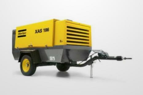 Atlas Copco XAHS 186 Kompressor mieten bei HKL BAUMASCHINEN