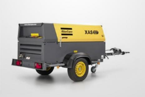 Atlas Copco XAS 137 Kompressor mieten bei HKL BAUMASCHINEN