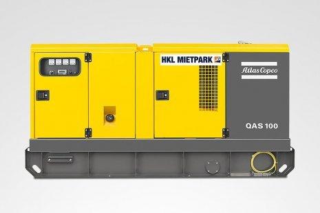 Atlas Copco QAS 100 FILS GT Stromerzeuger mieten bei HKL