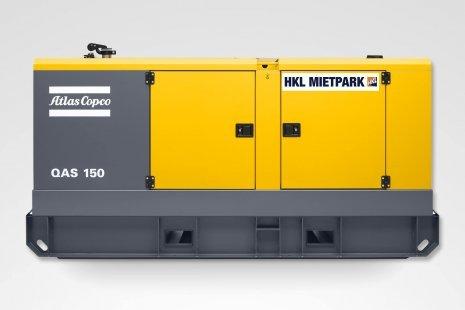 Atlas Copco QAS 150 Stromerzeuger mieten bei HKL