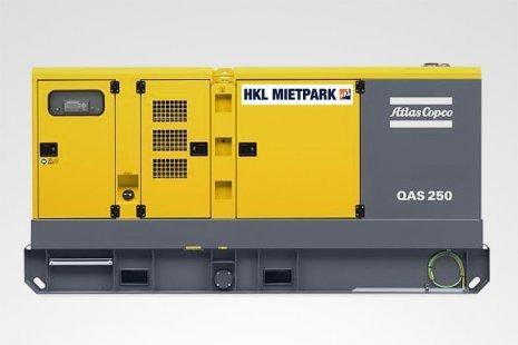 Atlas Copco QAS 250 Stromerzeuger mieten bei HKL