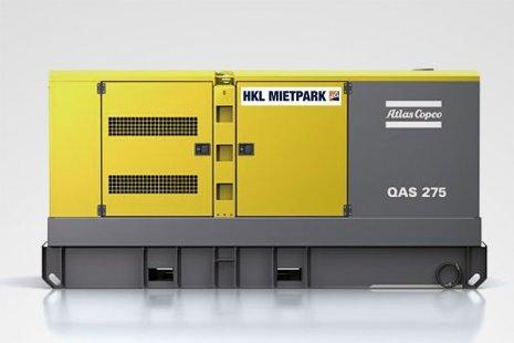 Atlas Copco QAS 275 FILS GT Stromerzeuger mieten bei HKL
