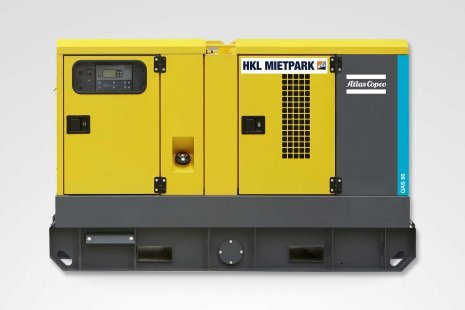 Atlas Copco QAS 60 Stromerzeuger mieten bei HKL
