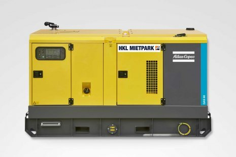 Atlas Copco QAS 80 Stromerzeuger mieten bei HKL