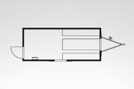 Bauwagen SINUS A4 mieten bei HKL BAUMASCHINEN