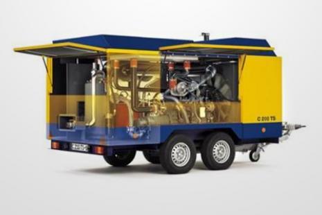 CompAir C200 TS-14 Kompressor mieten bei HKL BAUMASCHINEN