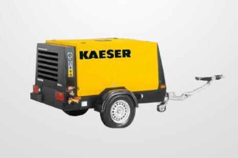 Kaeser M 57 Kompressor mieten bei HKL BAUMASCHINEN