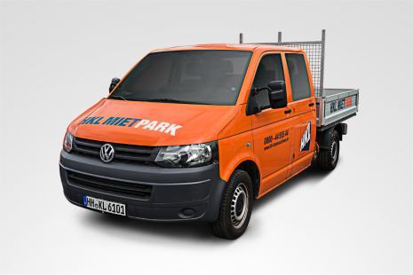 Volkswagen Transporter T5 Pritschenwage mieten