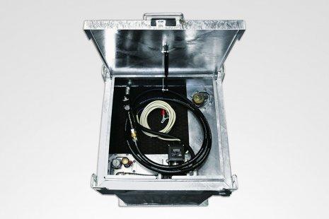 Tankanlage Quadro-C 450 für Diesel mieten