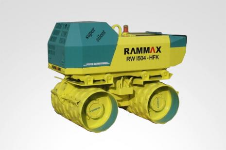 Rammax RW 1504 Grabenwalze mieten bei HKL BAUMASCHINEN