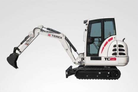 Terex TC 29 Minibagger mieten bei HKL BAUMASCHINEN