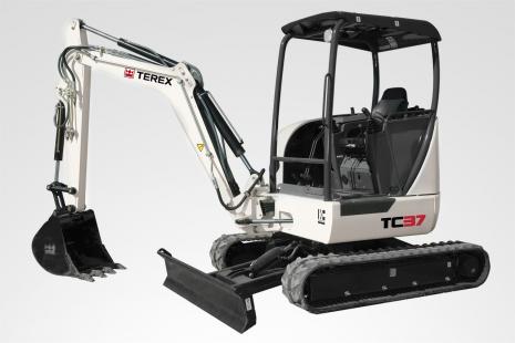 Terex TC 37 Minibagger mieten bei HKL BAUMASCHINEN