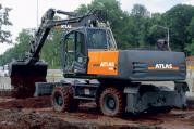 Atlas 190 W Mobilbagger mieten bei HKL BAUMASCHINEN