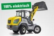 Kramer 5055e elektrischer Radlader mieten bei HKL