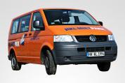 VW Bus T5 mieten bei HKL BAUMASCHINEN