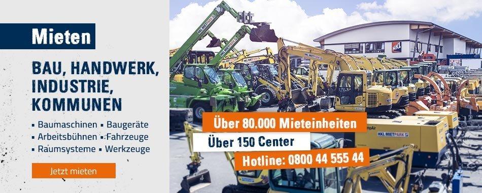 Baumaschinen U2013 Mieten, Kaufen, Service   HKL BAUMASCHINEN
