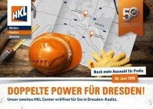 HKL Pressemitteilung / Doppelte Power für Dresden