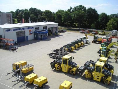 HKL Baumaschinen Lübben - Mieten - Kaufen - Service
