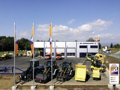 HKL Baumaschinen Graz - Mieten - Kaufen - Service