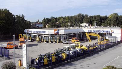 HKL Baumaschinen Linz - Mieten - Kaufen - Service