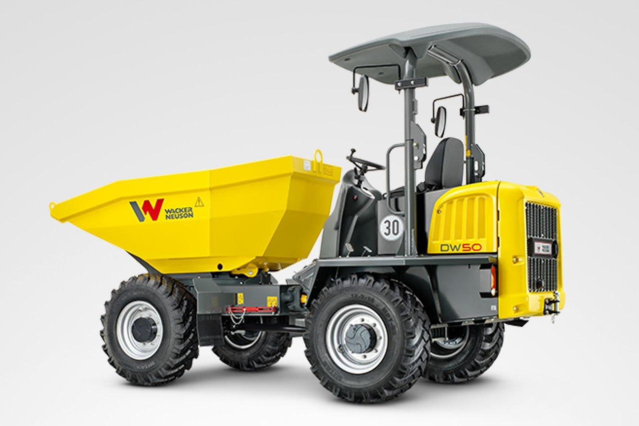 Wacker Neuson DW50 Raddumper