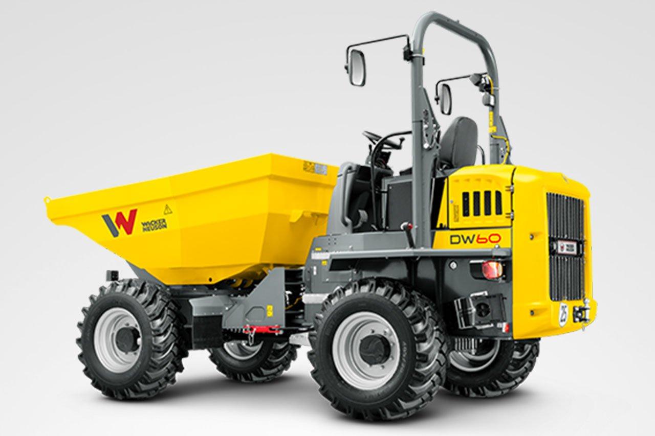 Wacker Neuson DW60 Raddumper