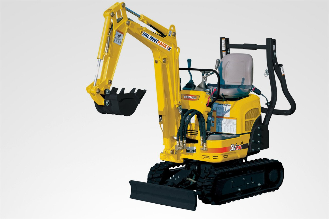 yanmar sv08 minibagger hkl baumaschinen mieten kaufen service deutschlands f hrender. Black Bedroom Furniture Sets. Home Design Ideas